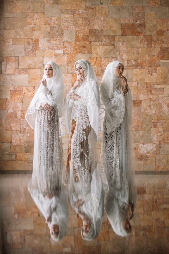 Dress Kebaya Akad Gamis Ottoman Series by LAKSMI - Kebaya Muslimah & Islamic Bride - 001