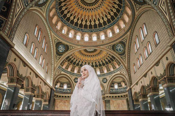 Dress Kebaya Akad Gamis Ottoman Series by LAKSMI - Kebaya Muslimah & Islamic Bride - 006