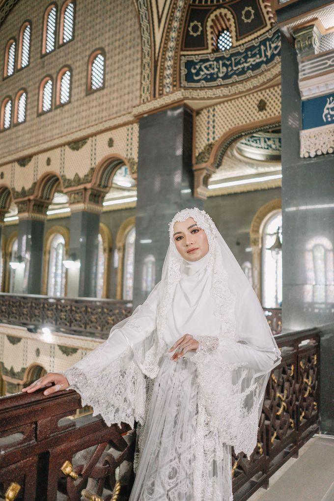 Dress Kebaya Akad Gamis Ottoman Series by LAKSMI - Kebaya Muslimah & Islamic Bride - 008