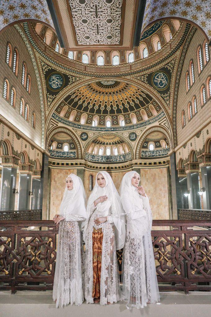 Dress Kebaya Akad Gamis Ottoman Series by LAKSMI - Kebaya Muslimah & Islamic Bride - 003