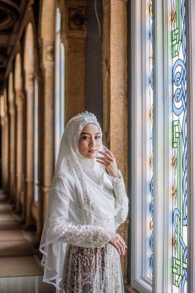 Dress Kebaya Akad Gamis Ottoman Series by LAKSMI - Kebaya Muslimah & Islamic Bride - 002