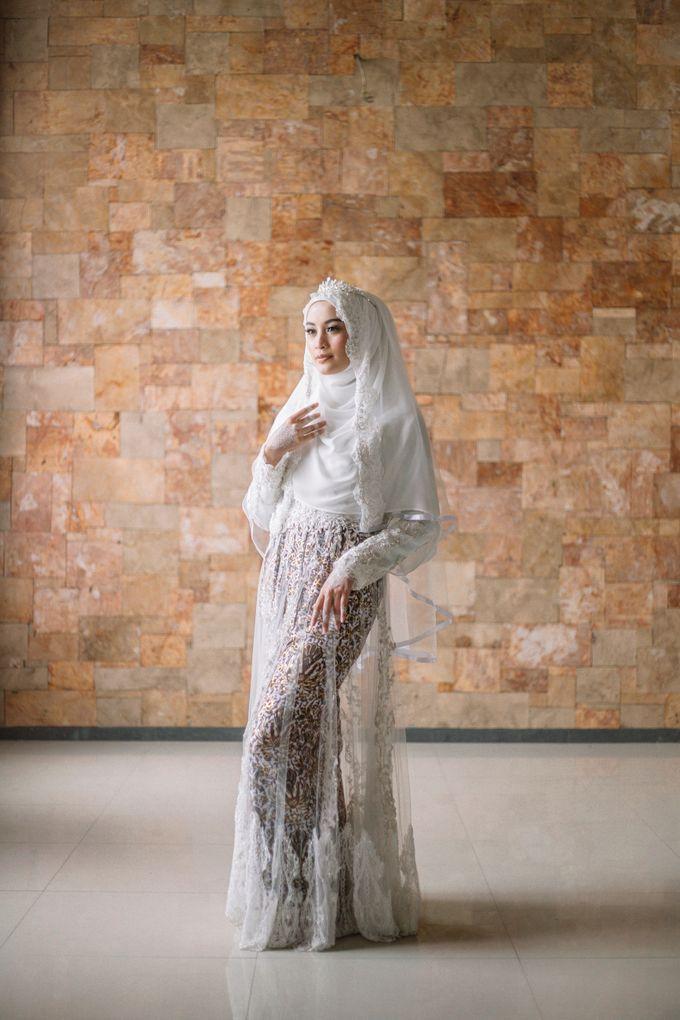 Dress Kebaya Akad Gamis Ottoman Series by LAKSMI - Kebaya Muslimah & Islamic Bride - 004