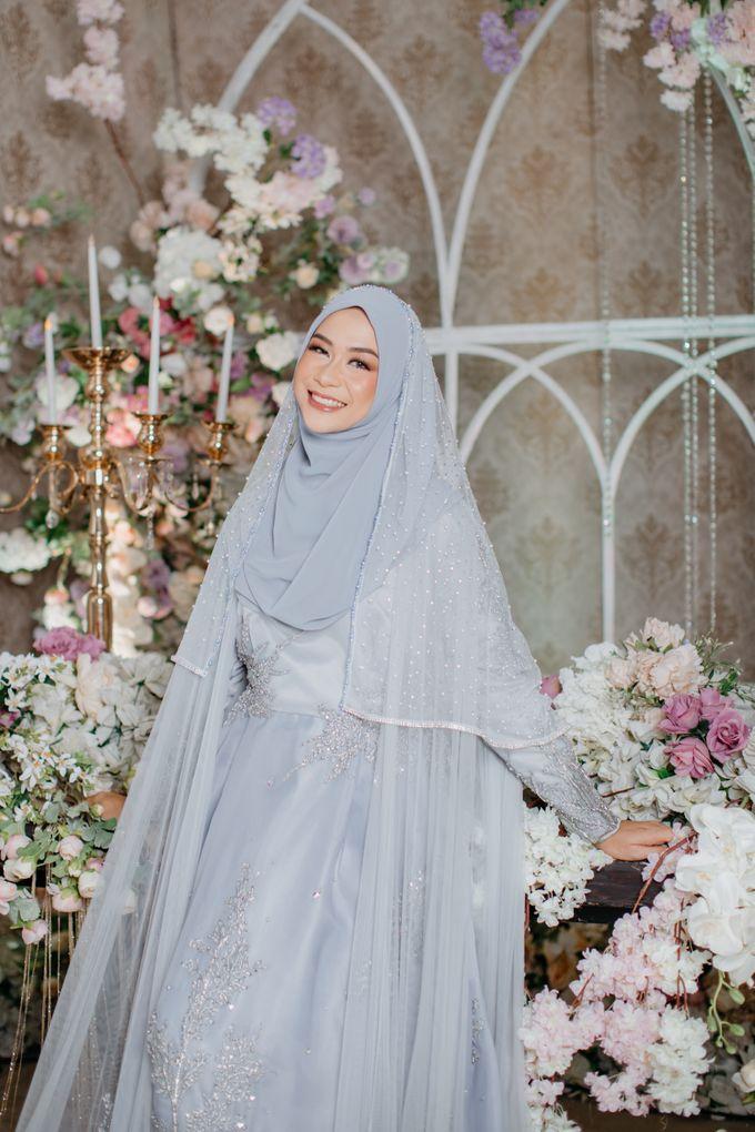 New Collection | Ice Gray Hijrah 01 by LAKSMI - Kebaya Muslimah & Islamic Bride - 001