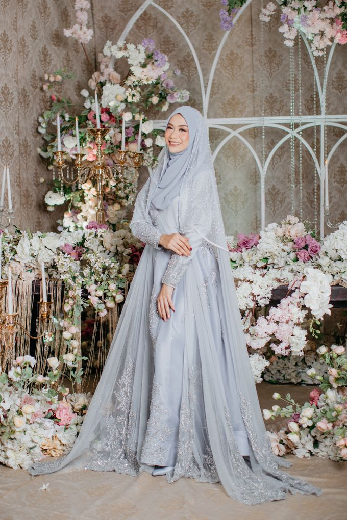 New Collection | Ice Gray Hijrah 01 by LAKSMI - Kebaya Muslimah & Islamic Bride - 003