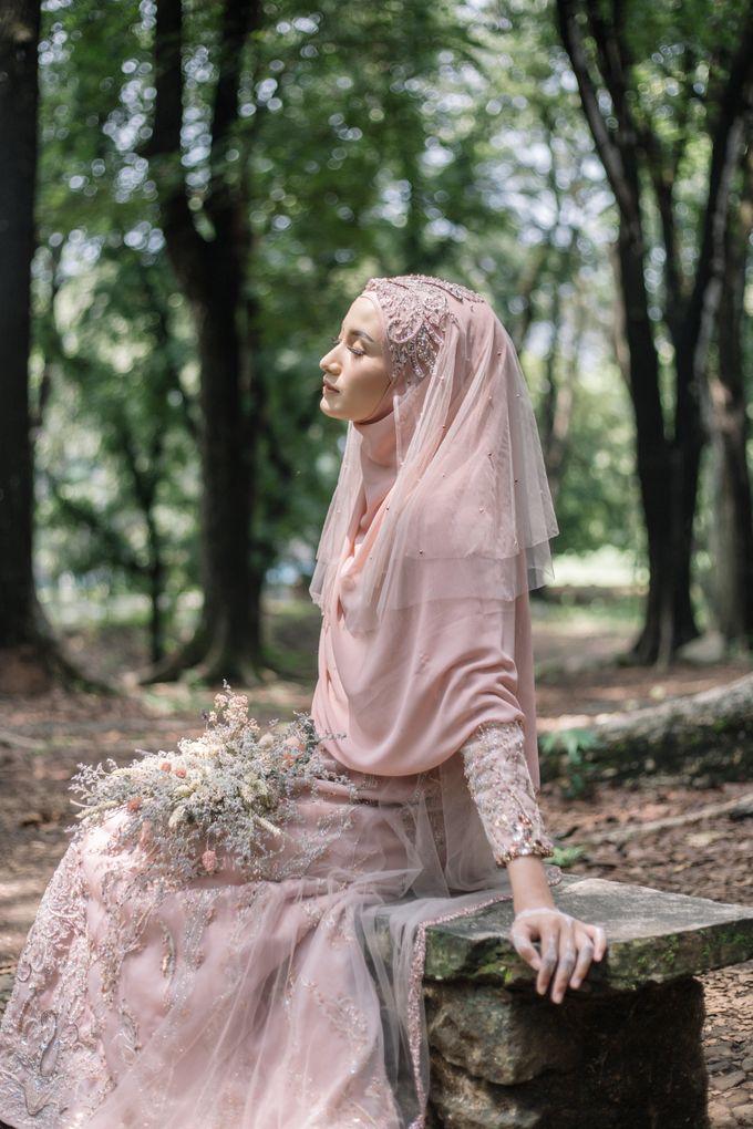 Ottoman Series - Soft Pink by LAKSMI - Kebaya Muslimah & Islamic Bride - 005
