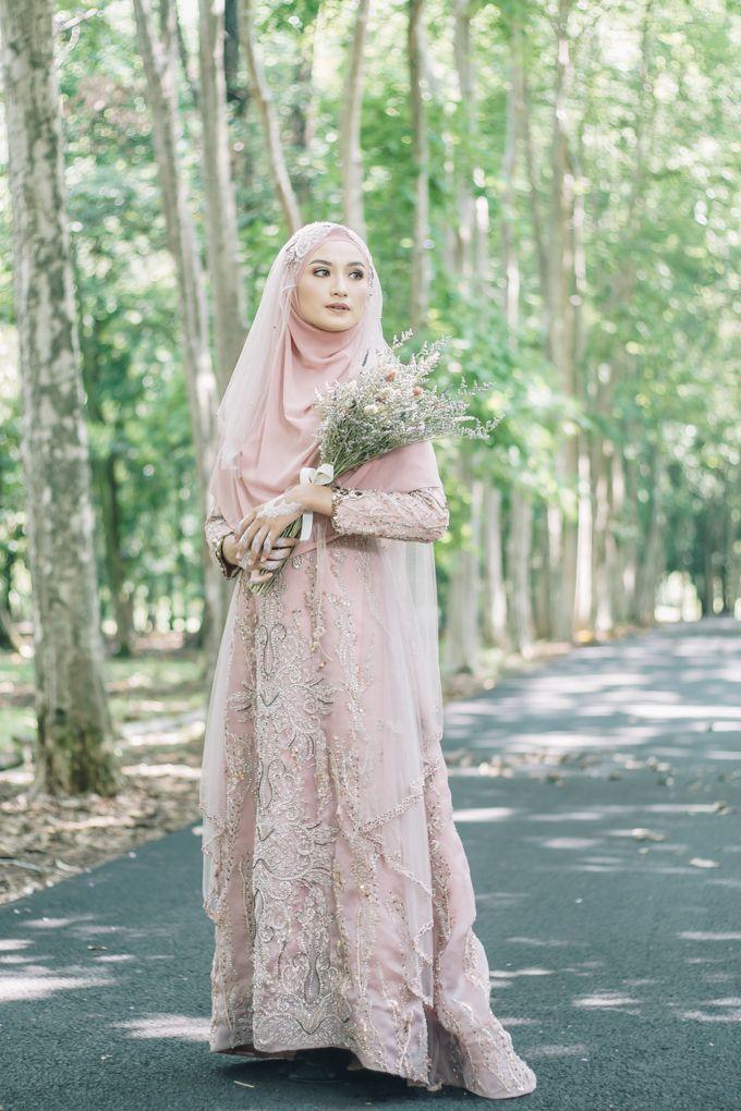 Ottoman Series - Soft Pink by LAKSMI - Kebaya Muslimah & Islamic Bride - 001