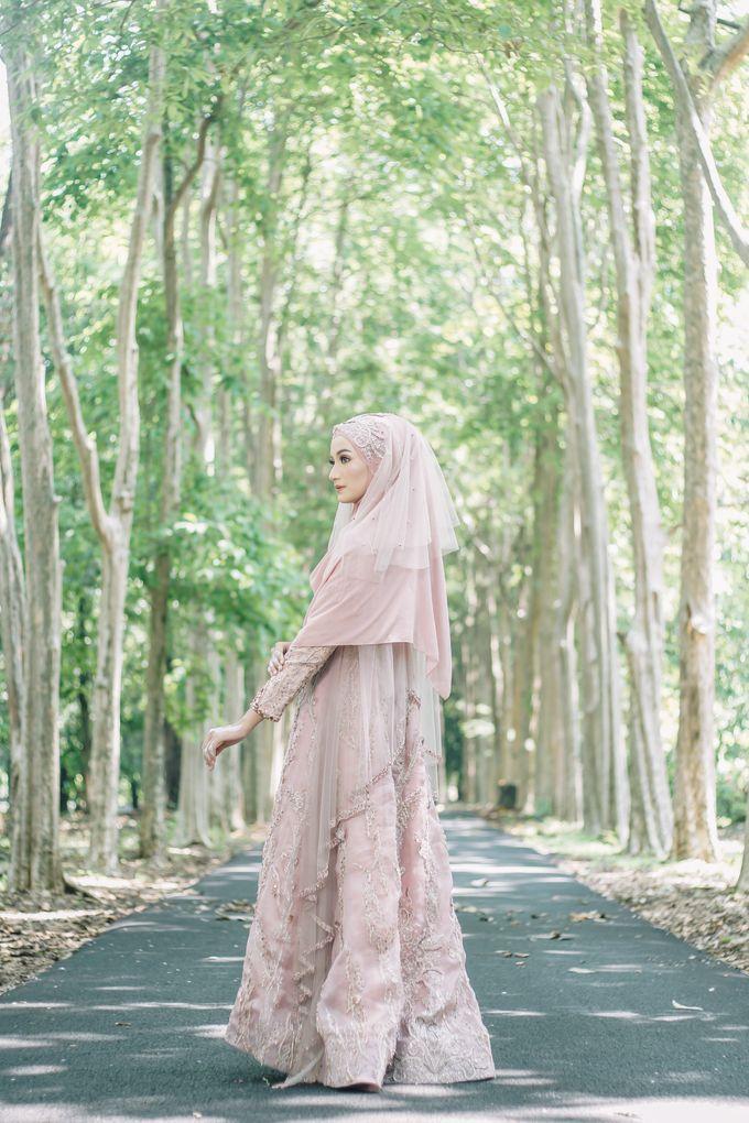 Ottoman Series - Soft Pink by LAKSMI - Kebaya Muslimah & Islamic Bride - 007