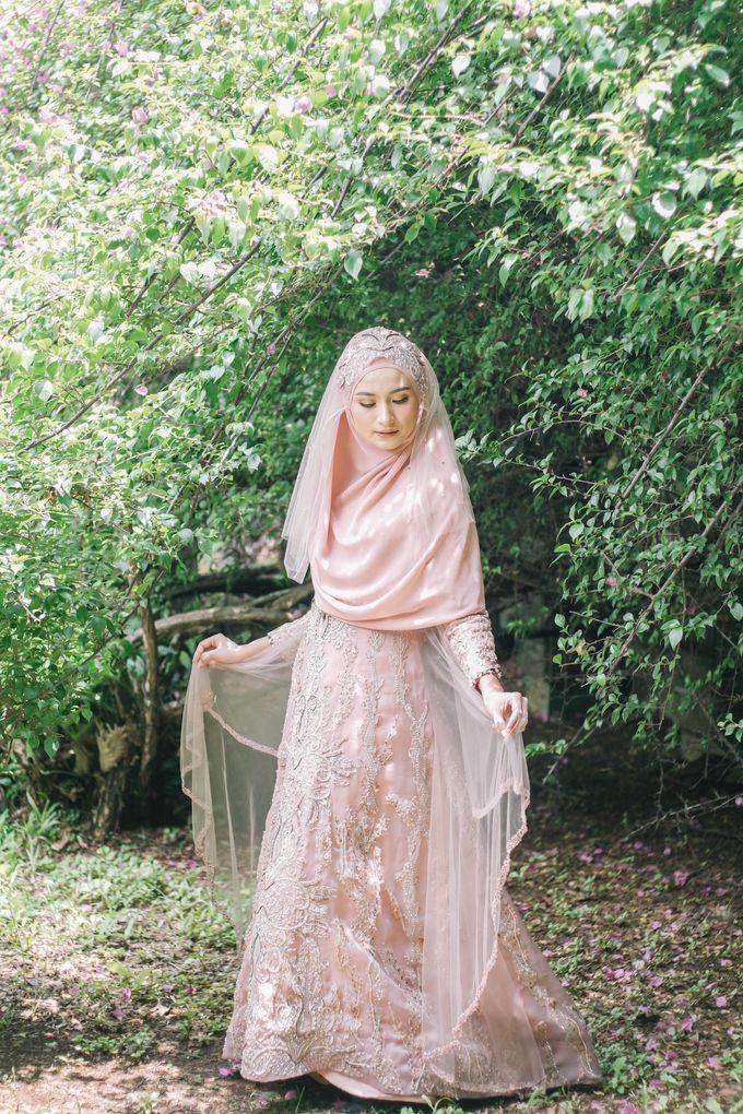 Ottoman Series - Soft Pink by LAKSMI - Kebaya Muslimah & Islamic Bride - 009