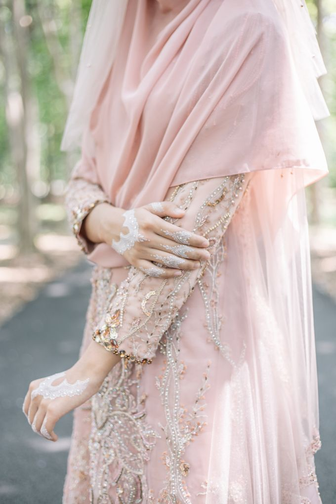 Ottoman Series - Soft Pink by LAKSMI - Kebaya Muslimah & Islamic Bride - 010
