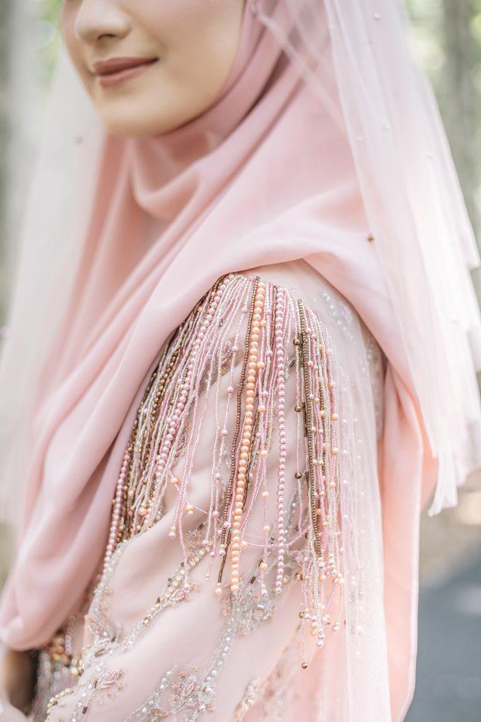 Ottoman Series - Soft Pink by LAKSMI - Kebaya Muslimah & Islamic Bride - 006