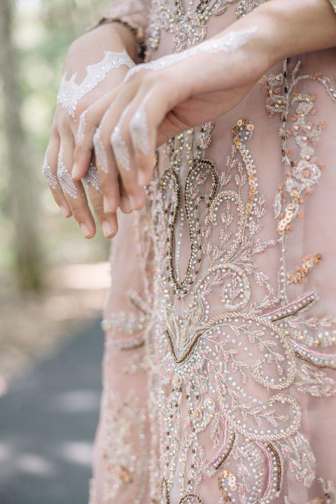 Ottoman Series - Soft Pink by LAKSMI - Kebaya Muslimah & Islamic Bride - 002