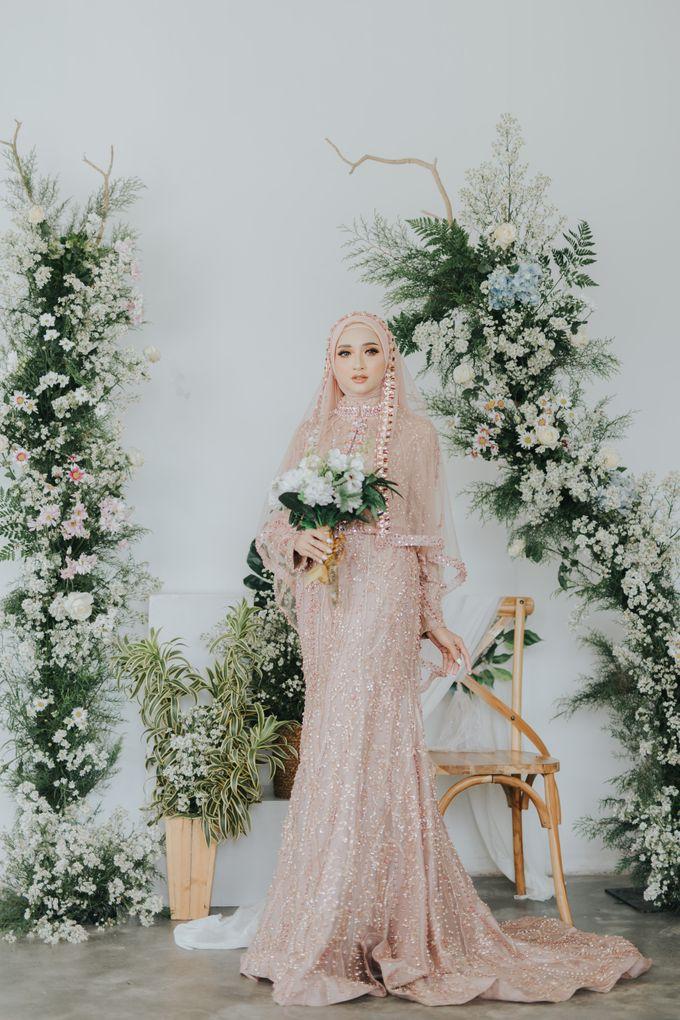 Photoshoot Dusty Pink Rainy by LAKSMI - Kebaya Muslimah & Islamic Bride - 008