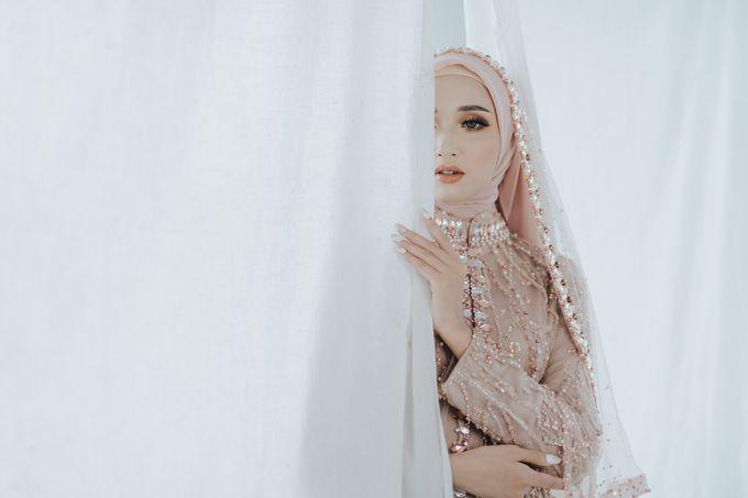 Photoshoot Dusty Pink Rainy by LAKSMI - Kebaya Muslimah & Islamic Bride - 001