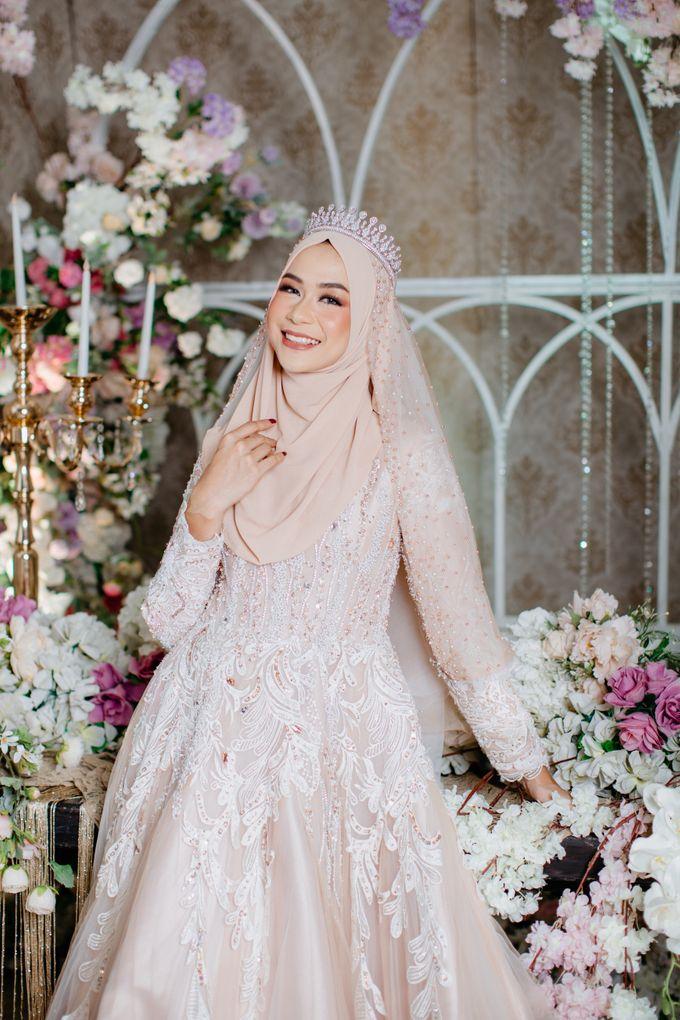 New Collection | Nude Sekar Fathiya by LAKSMI - Kebaya Muslimah & Islamic Bride - 003