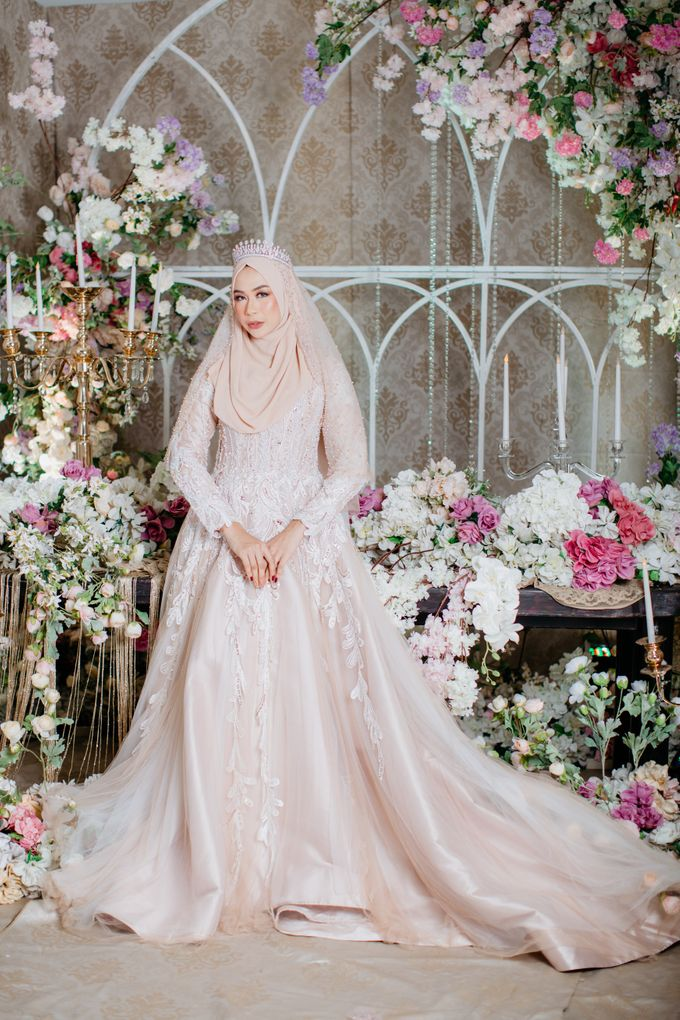 New Collection | Nude Sekar Fathiya by LAKSMI - Kebaya Muslimah & Islamic Bride - 005
