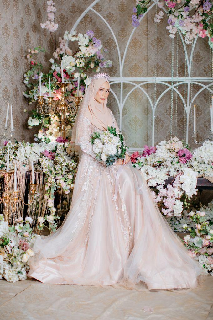 New Collection | Nude Sekar Fathiya by LAKSMI - Kebaya Muslimah & Islamic Bride - 002