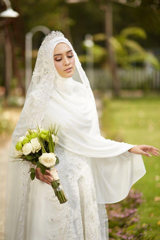 Akad Hijrah Series 03 Busana Syari Akad by LAKSMI - Kebaya Muslimah & Islamic Bride - 003