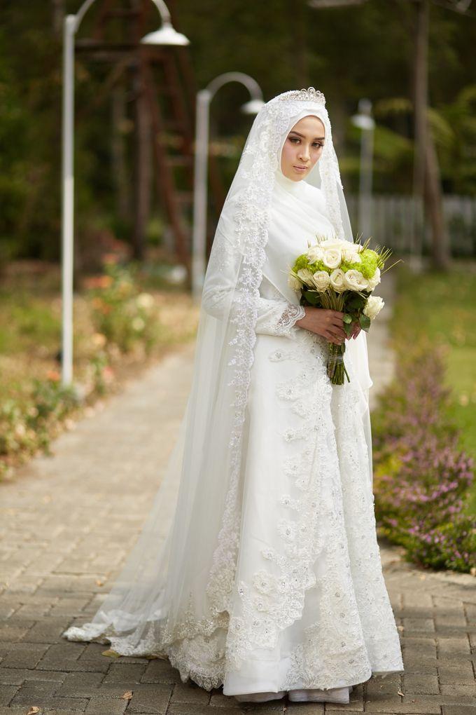 Akad Hijrah Series 03 Busana Syari Akad by LAKSMI - Kebaya Muslimah & Islamic Bride - 002