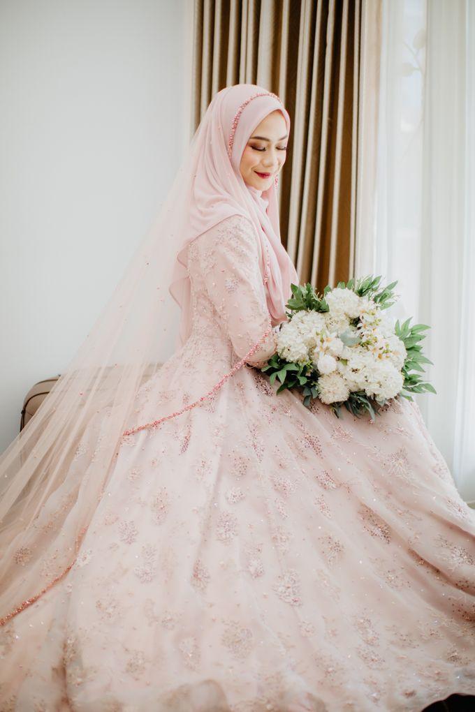 New Collection | Dusty Pink Annisa by LAKSMI - Kebaya Muslimah & Islamic Bride - 004