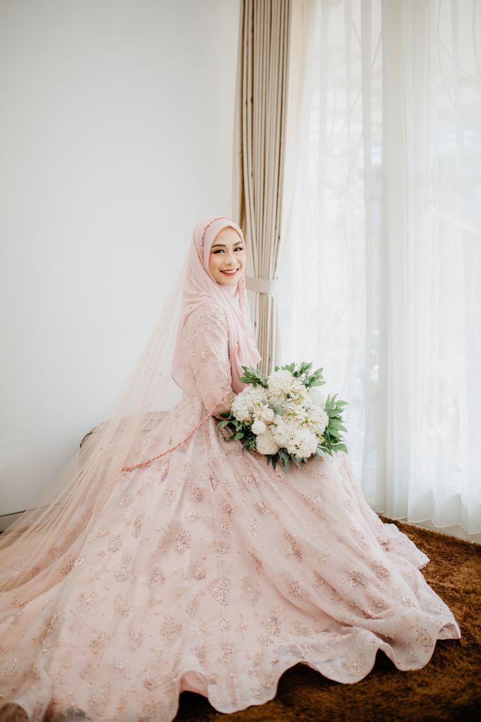 New Collection | Dusty Pink Annisa by LAKSMI - Kebaya Muslimah & Islamic Bride - 002
