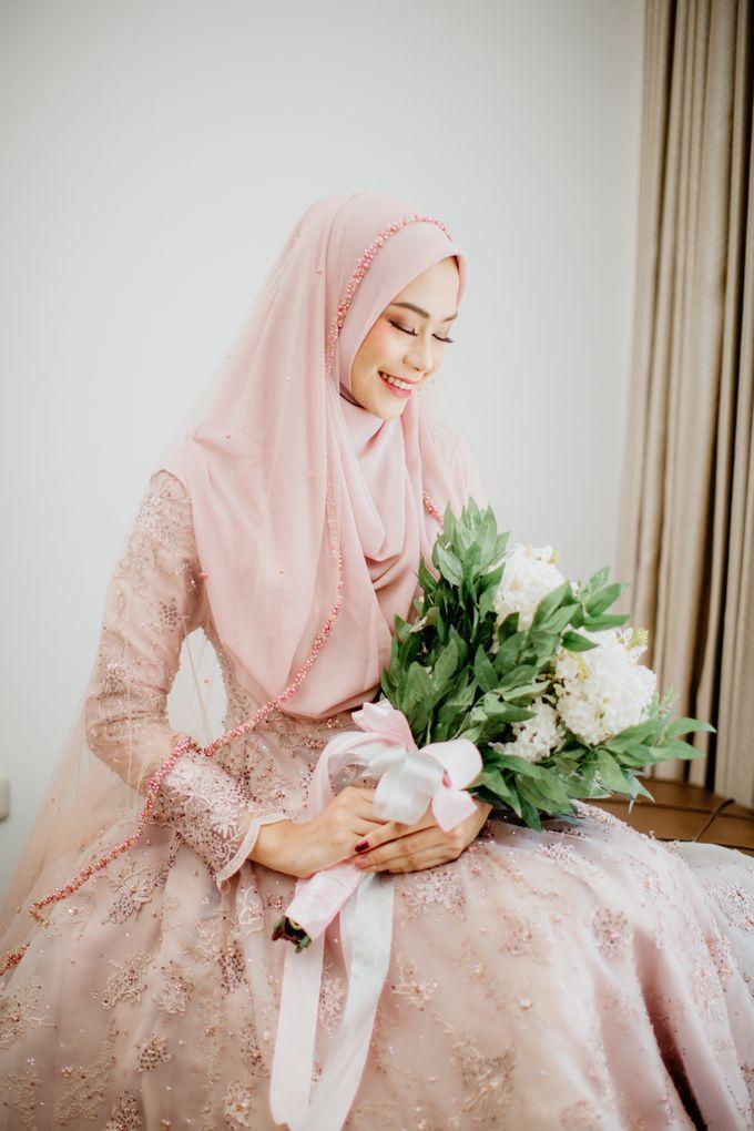 New Collection | Dusty Pink Annisa by LAKSMI - Kebaya Muslimah & Islamic Bride - 001
