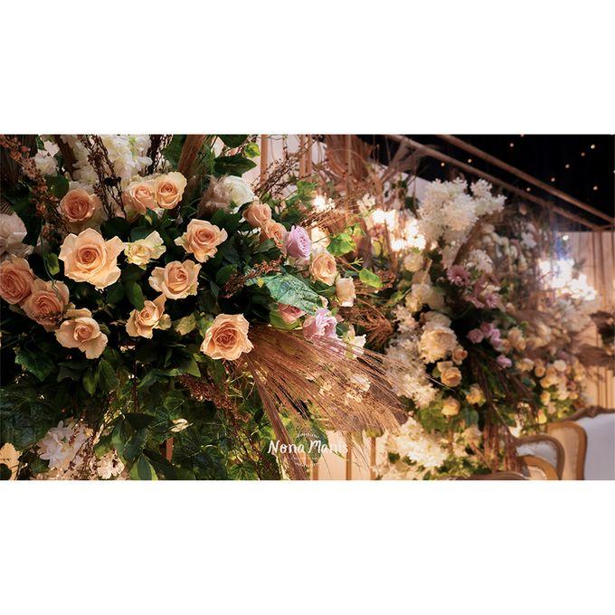 Laras & Rijal Wedding Decoration by Nona Manis Creative Planner - 001