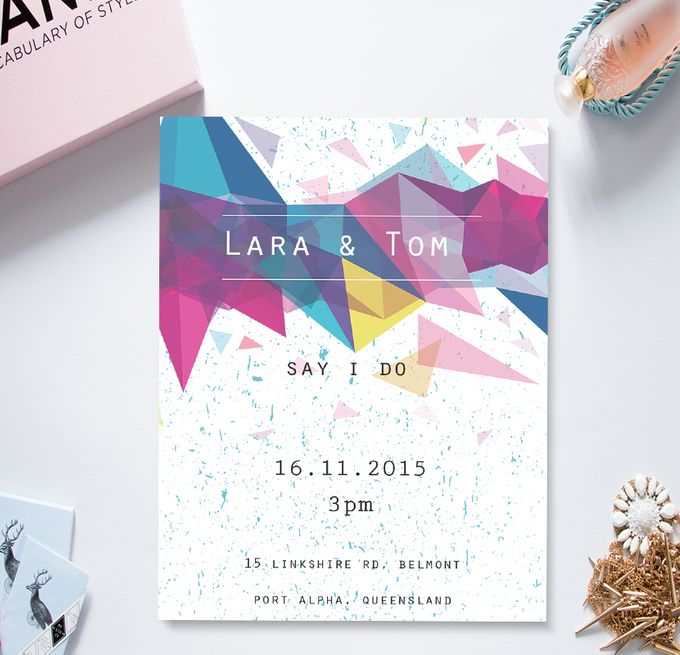 Modern & Chic by She.Fox Invitations - 001
