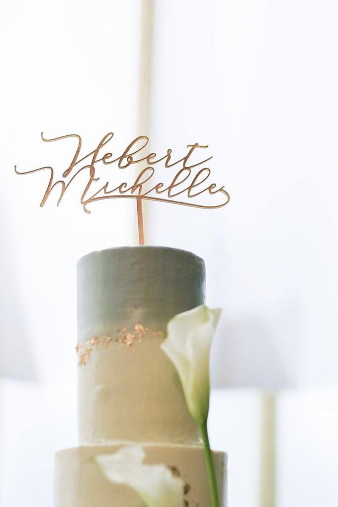 Wedding Cake - Hebert & Michelle by Lareia Cake & Co. - 005