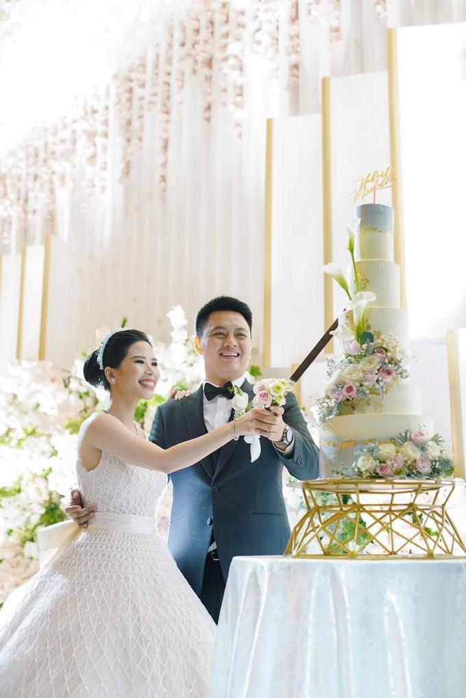 Wedding Cake - Hebert & Michelle by Lareia Cake & Co. - 004