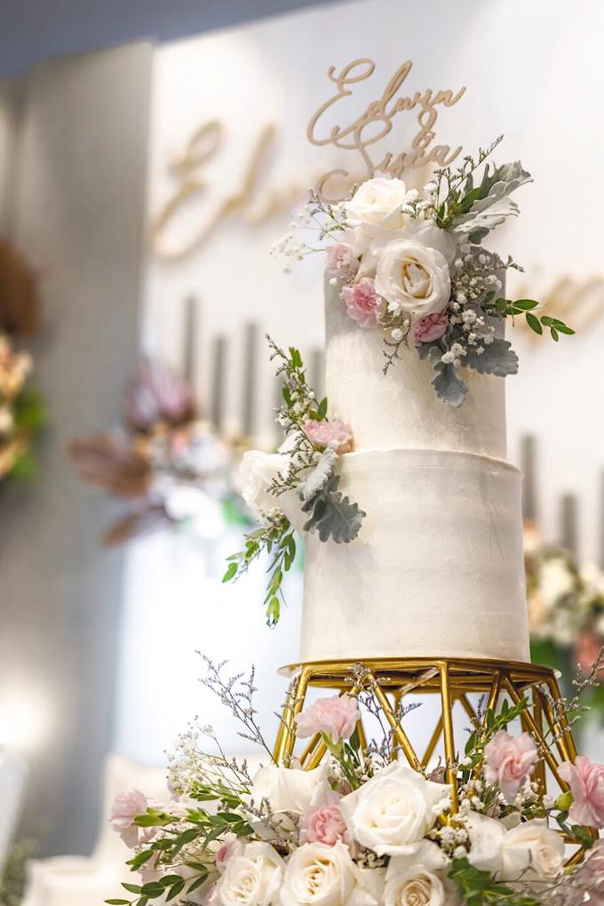 Wedding Cake - Edwin & Sisca by Lareia Cake & Co. - 001