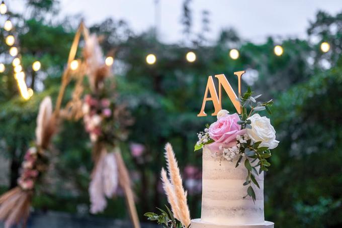 Wedding Cake - Alfa & Nathania by Lareia Cake & Co. - 004