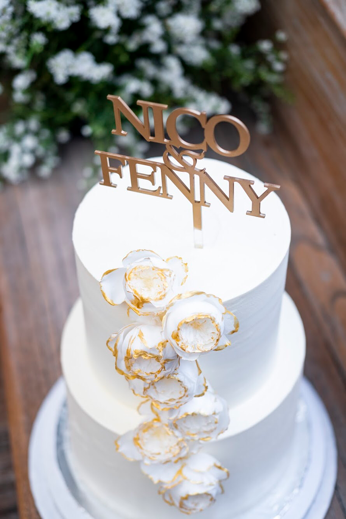 Wedding Cake - Nico & Fenny by Lareia Cake & Co. - 002