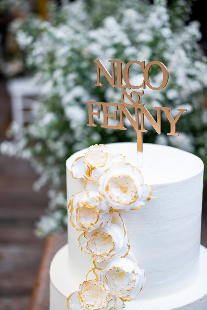 Wedding Cake - Nico & Fenny by Lareia Cake & Co. - 001