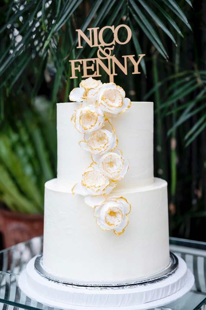 Wedding Cake - Nico & Fenny by Lareia Cake & Co. - 003