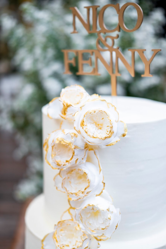 Wedding Cake - Nico & Fenny by Lareia Cake & Co. - 004