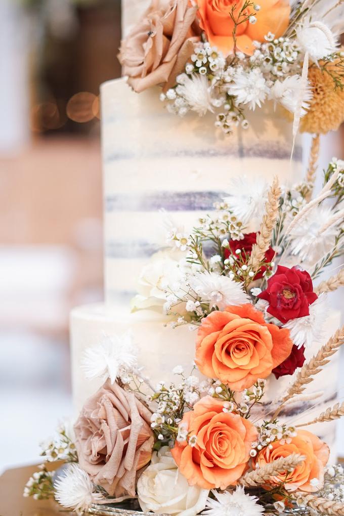 Wedding Cake - King & Vonny by Lareia Cake & Co. - 004