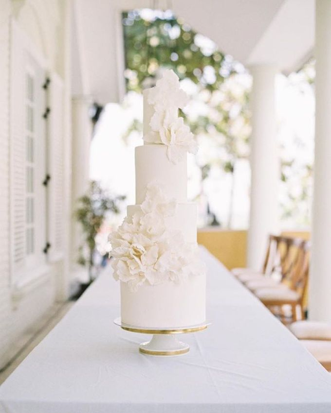 Wedding Cake - Albert & Olivia by Lareia Cake & Co. - 001