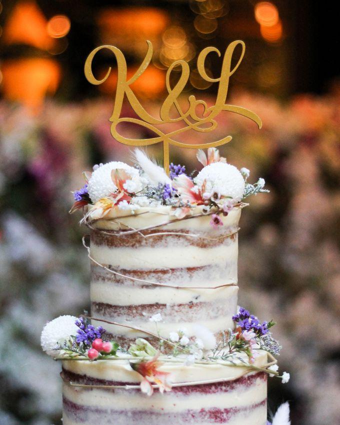 Wedding Cake - Kerwin & Lisa by Lareia Cake & Co. - 004