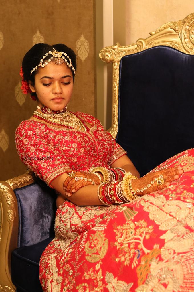 Varnamala /Reception look by Latsha Gulechha Makeovers - 004