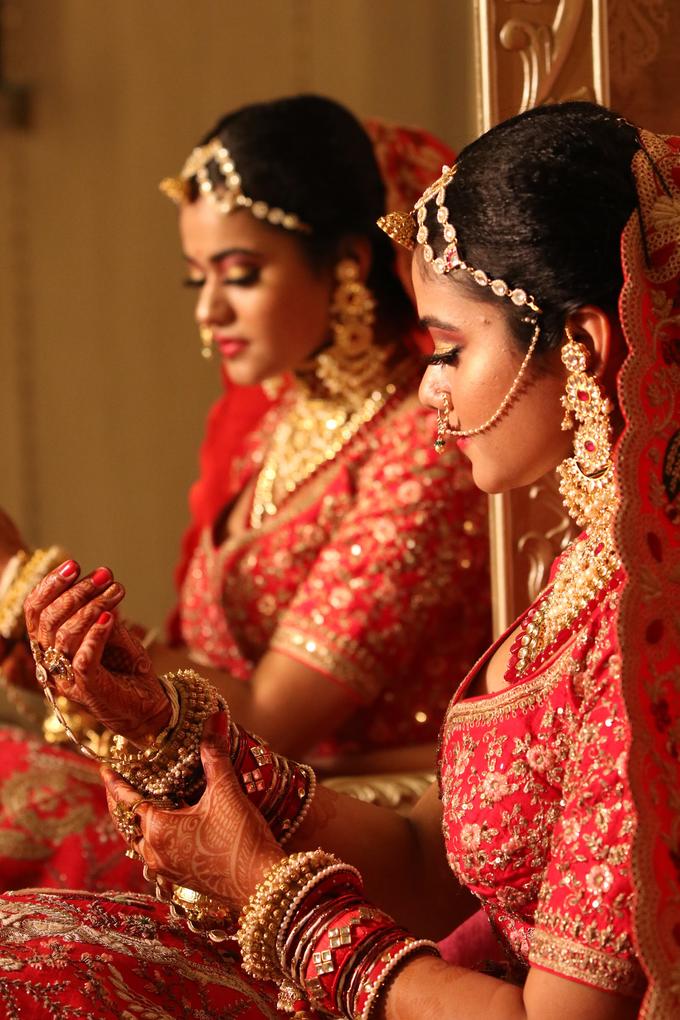 Varnamala /Reception look by Latsha Gulechha Makeovers - 005