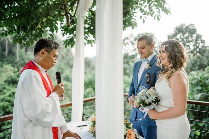 INTIMATE FOREST WEDDING - LAUREN & KAREEM by Kamandalu Ubud - 003