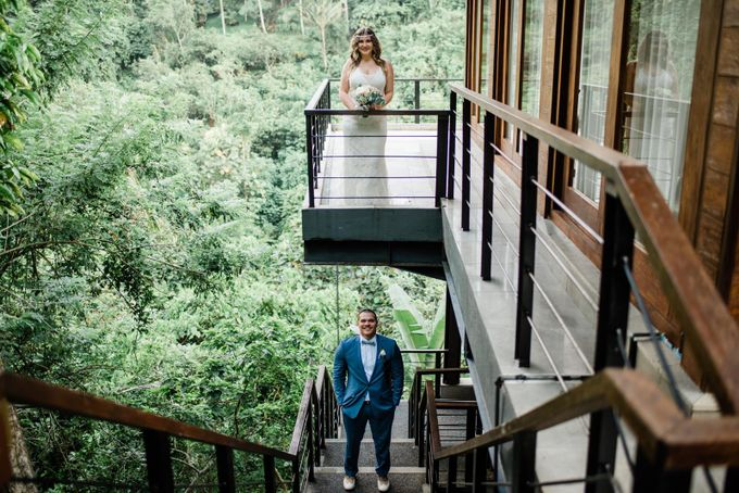 INTIMATE FOREST WEDDING - LAUREN & KAREEM by Kamandalu Ubud - 008