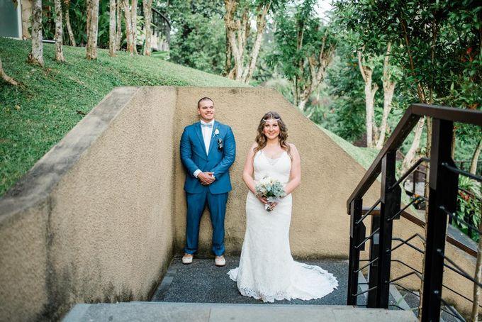 INTIMATE FOREST WEDDING - LAUREN & KAREEM by Kamandalu Ubud - 006