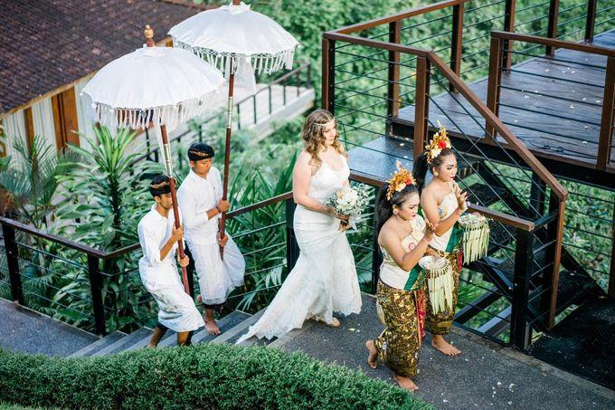 INTIMATE FOREST WEDDING - LAUREN & KAREEM by Kamandalu Ubud - 002