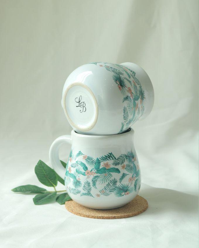 Mug Gentong Mini Souvenir Pernikahan by Mug-App Wedding Souvenir - 002