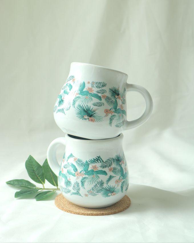 Mug Gentong Mini Souvenir Pernikahan by Mug-App Wedding Souvenir - 003