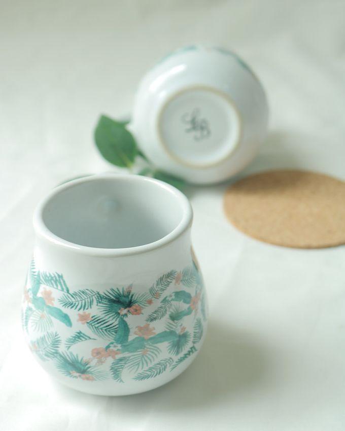 Mug Gentong Mini Souvenir Pernikahan by Mug-App Wedding Souvenir - 005