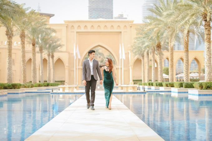 F R E D  x  I S A  ENGAGEMENT SESSION DUBAI by Leighton Andante - 018