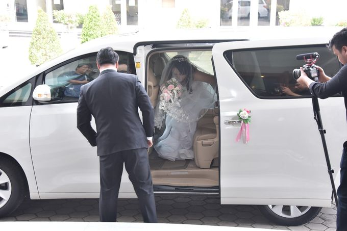 Best wishes for a fun-filled future together by sapphire wedding car - 001