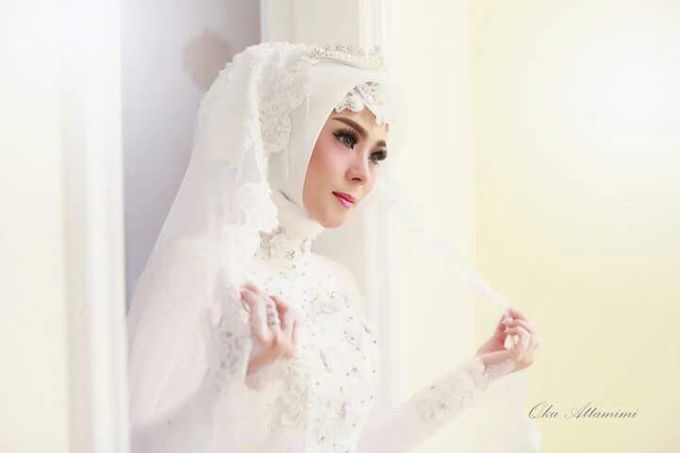 Hijab For Akad by LCK Makeup Artist - 007
